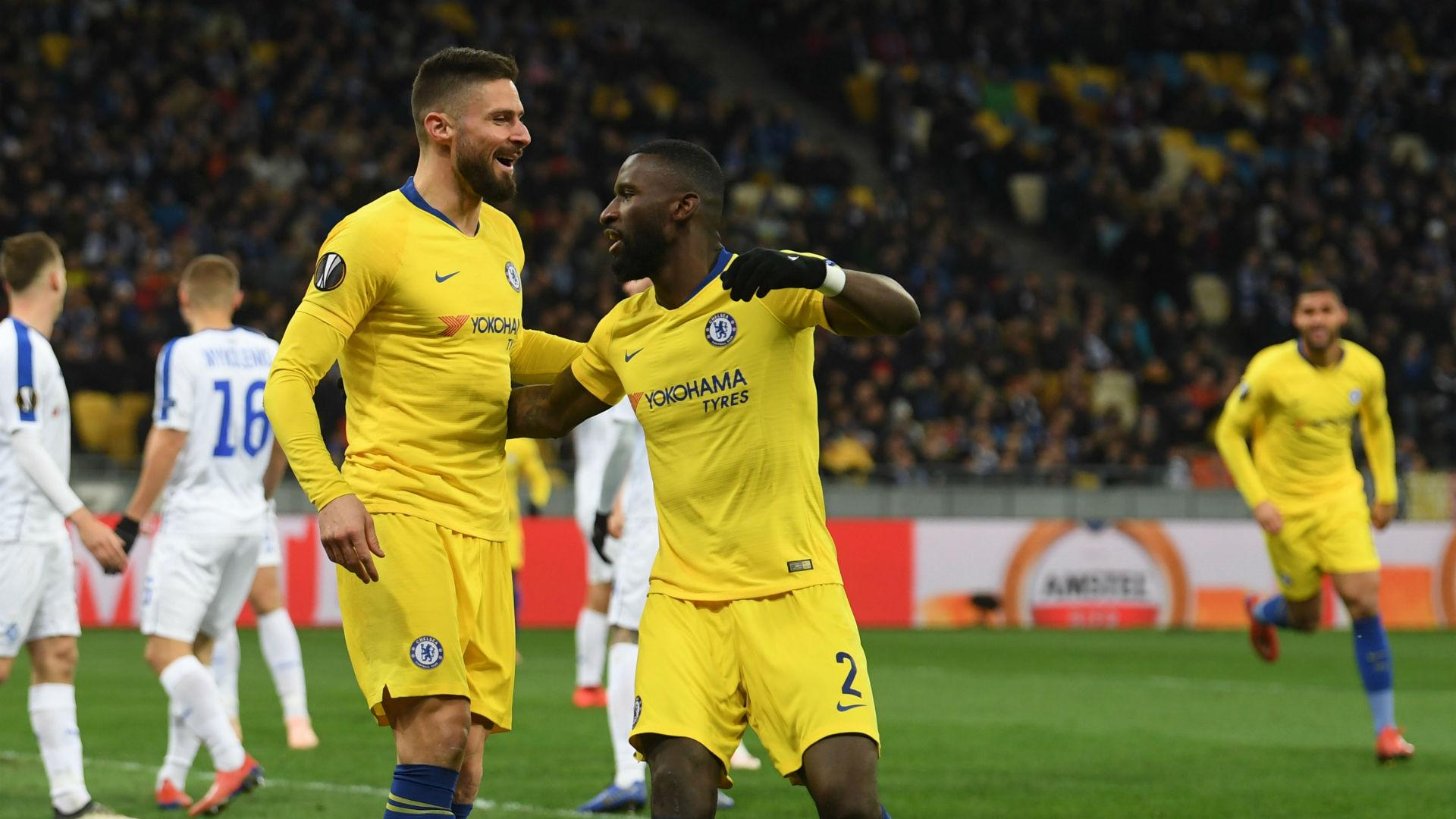 Pujian Tinggi Sarri Untuk Hat-trick Giroud Ke Gawang Dynamo Kiev
