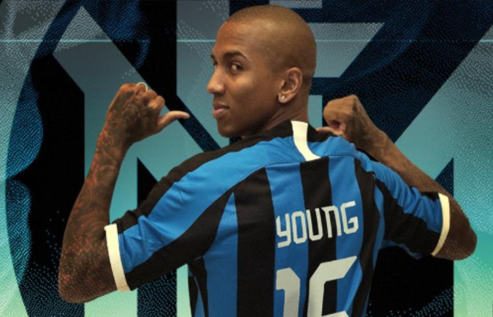 Ashley Young Gabung Dengan Inter Milan