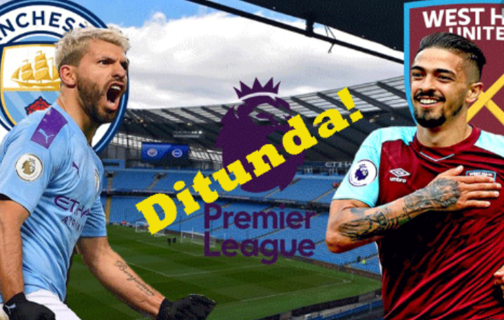 Cuaca Ekstrem Akibat Badai Ciara, Laga Man City vs West Ham Resmi Ditunda