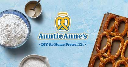 Mengenal Auntie Anne's, Cemilan Enak dan Unik